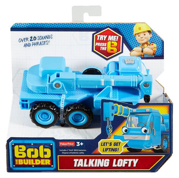 Bob Budowniczy Mówiące pojazdy w j. polskim - Fisher Price