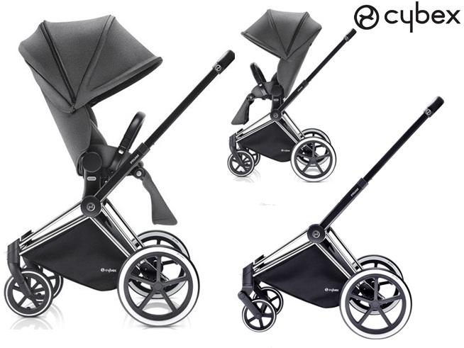Priam wózek spacerowy siedzisko Lux  koła lekkie, terenowe lub Trakingowe