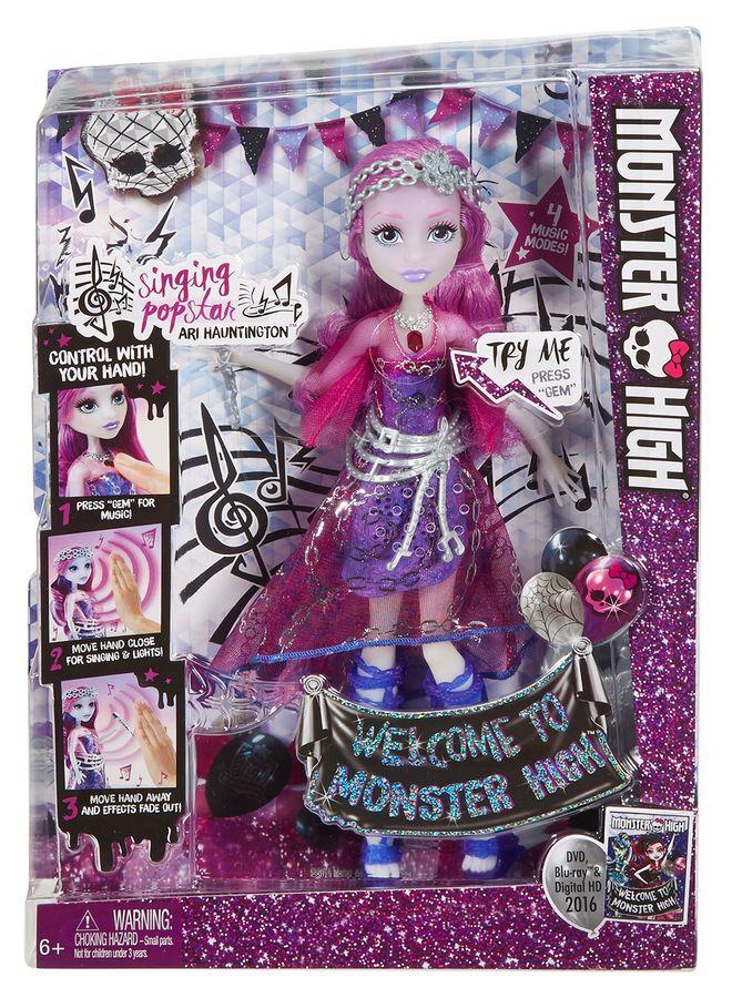 Monster High Śpiewająca straszygwiazda DYN97