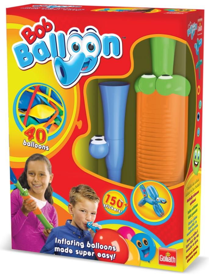 Goliath Games - Bob Ballon Double - dwa urządzenia do pompowania balonów