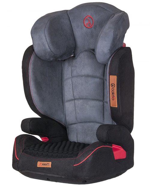 Bezpieczny fotelik Coletto Avanti 15-36 kg z odłączanym oparciem