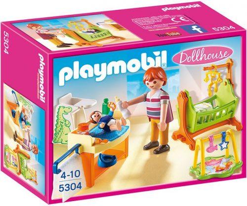 Playmobil Pokój dla niemowlaka z łóżeczkiem 5304