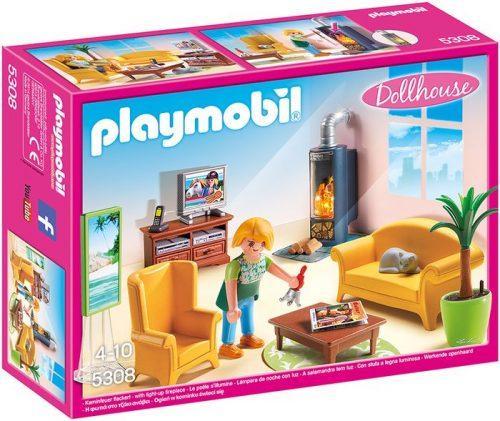 Playmobil Salon z kominkiem 5308
