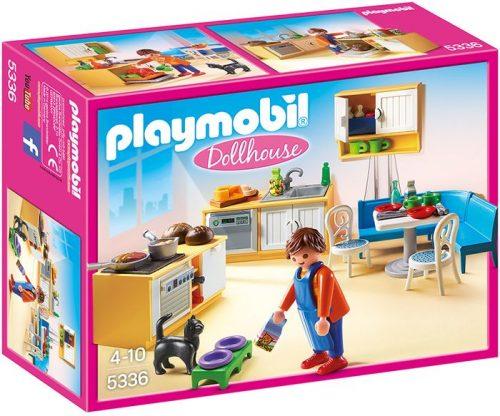 Playmobil Kuchnia z kącikiem jadalnym 5336