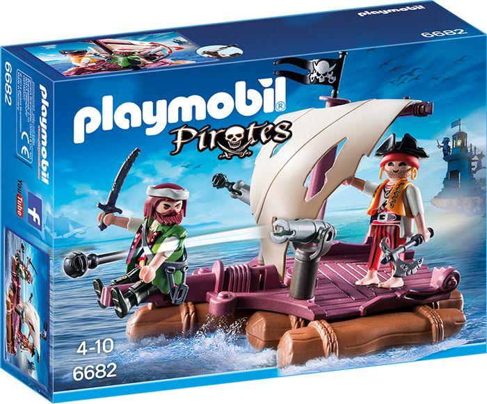 Playmobil Tratwa piracka 6682