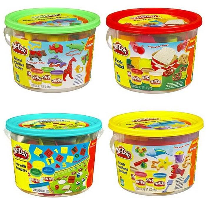 Play Doh Ciastolina Kolorowe wiaderko