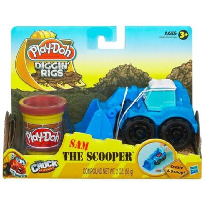Play Doh Ciastolina Wesołe pojazdy budowlane