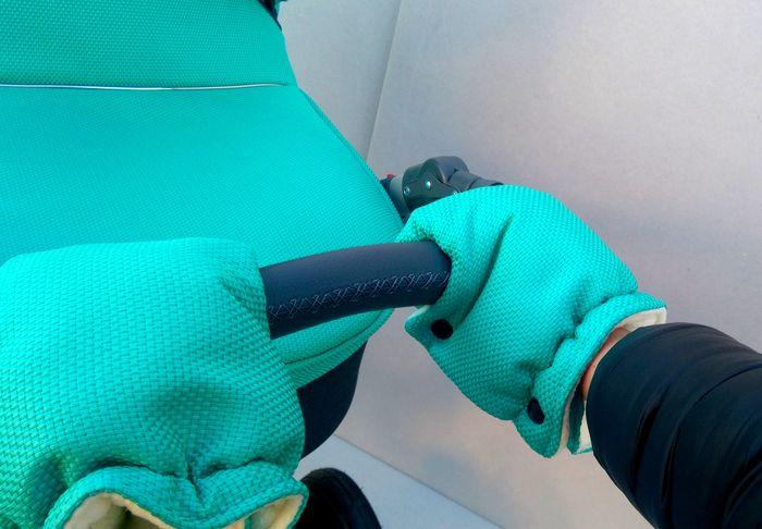 Mufka rękawice na rączkę wózków dzieciecych  Paradise