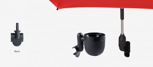 Zatrzask uchwytu na kubek i do parasolki Xari, Mima