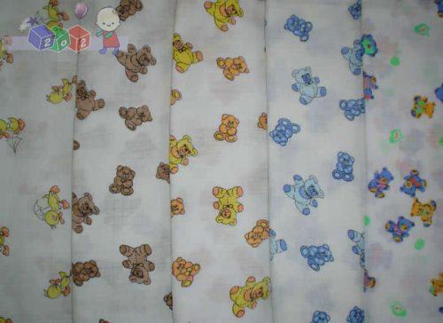 Kolorowe pieluszki tetrowe 70x80cm różne wzory EGA