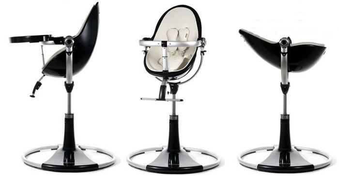 Stelaż krzesełka do karmienia Bloom Fresco Chrome biały, czarny, grafit, srebrny
