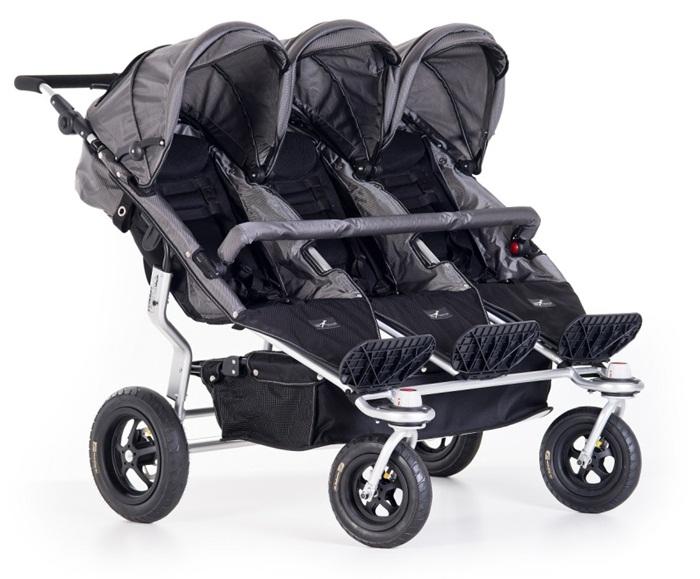 Spacerowy wózek dla trojaczków TFK