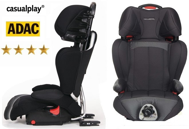 Fotelik samochodowy Protector Fix 15-36 kg firmy Casualplay