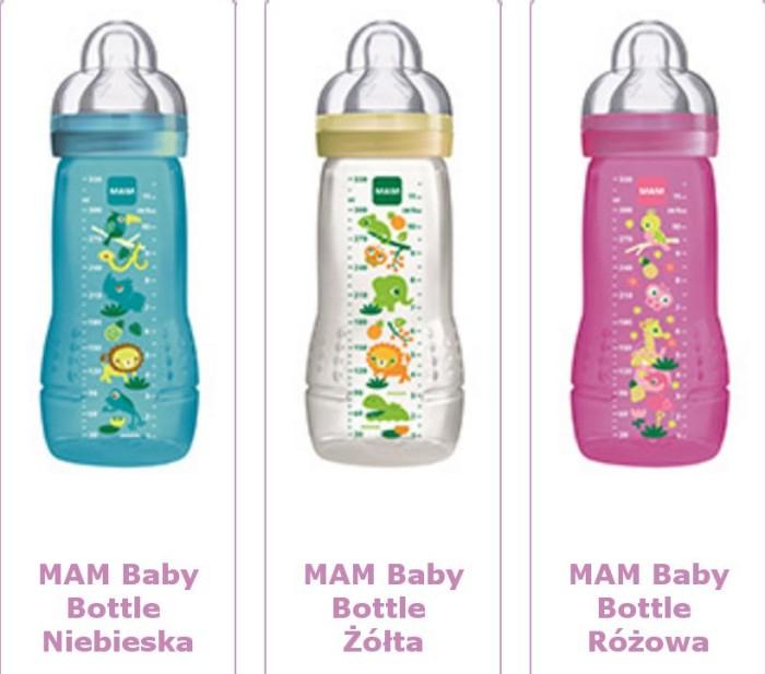 Wysokiej jakości butelka do picia dla niemowląt 4m+ Mam Baby Bottle
