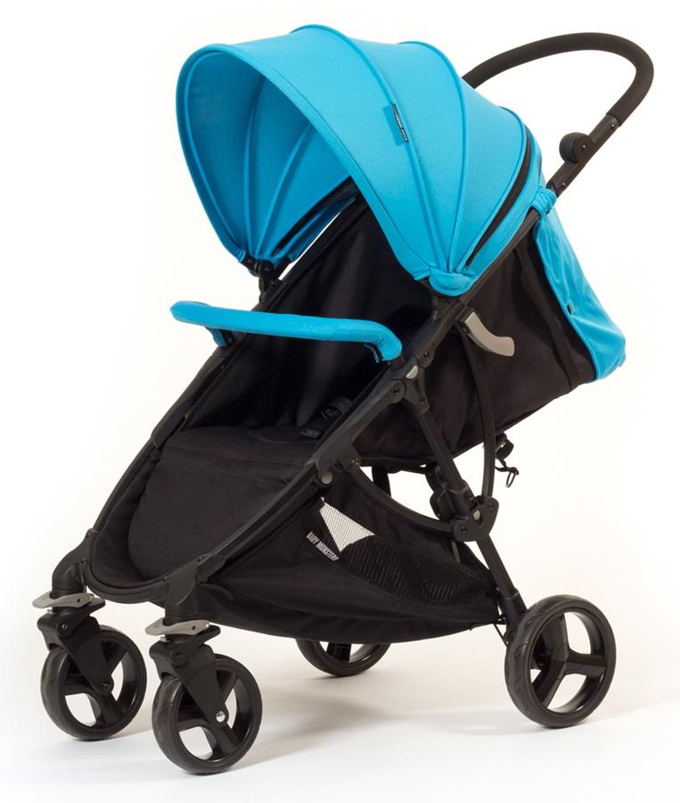 Wózek spacerowy Compact super składanie piękna kolorystyka Baby Monsters