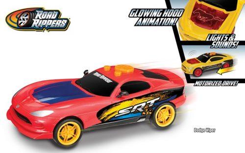 Road Rippers Dodge Viper - samochód ze światełkami, dźwiękiem
