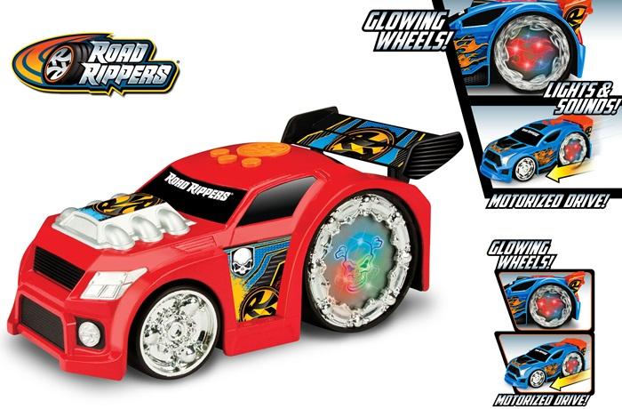 Toy State Road Rippers - Iluminators Muscle Car - świecący i grający pojazd