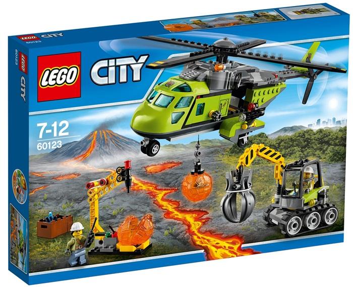 Helikopter dostawczy lego city volcano explorers