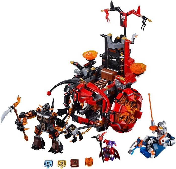 Pojazd zła jestro lego nexo knights