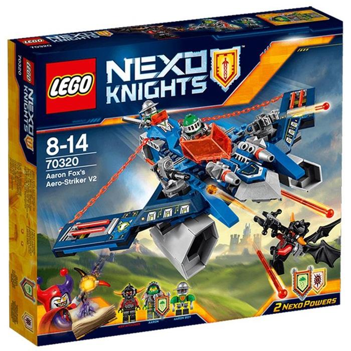 Myśliwiec v2 aarona lego nexo knights