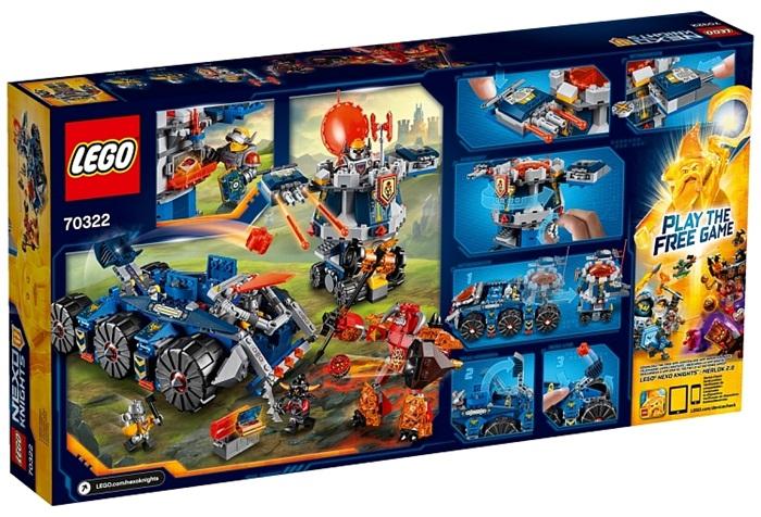 Pojazd axla lego nexo knights