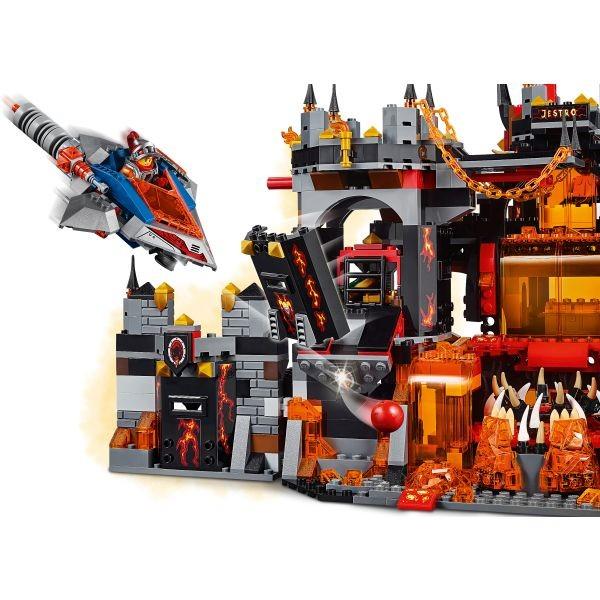 Wulkaniczna kryjówka jestro lego nexo knights