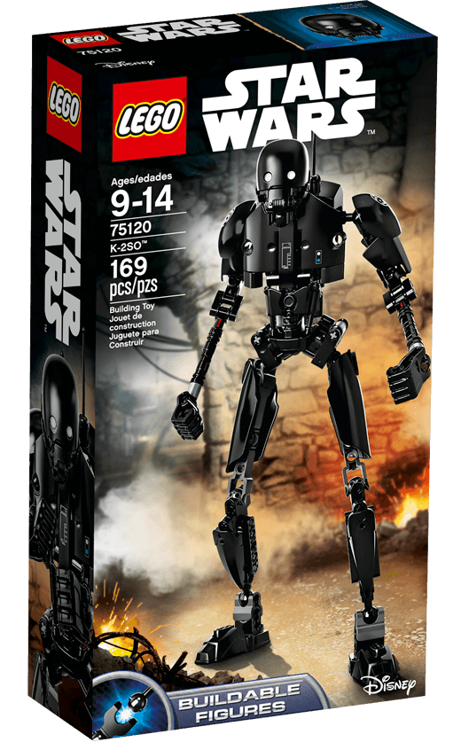 Lego constraction star wars k-2so