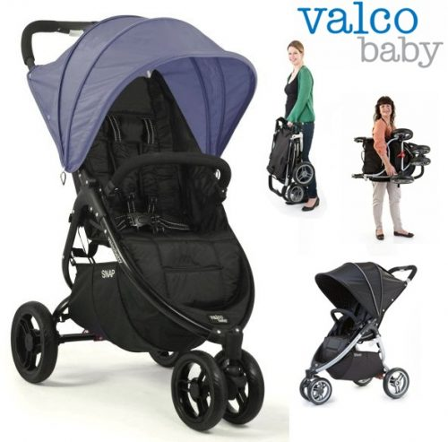 Lekki wózek spacerowy 6,2 kg Snap 3 Valco Baby - super składanie