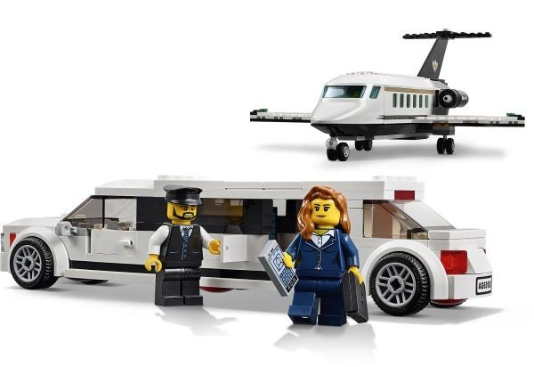 Lotnisko — obsługa vip-ówlego - Lego city airport 60102