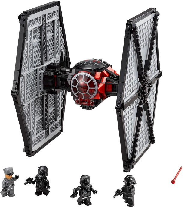First order special forces tie fighterlego star wa