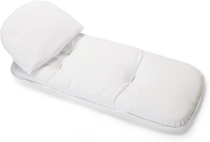 Biały materacyk z poduszką do gondoli Navetta XL i Navetta Pop Up, Per Perego
