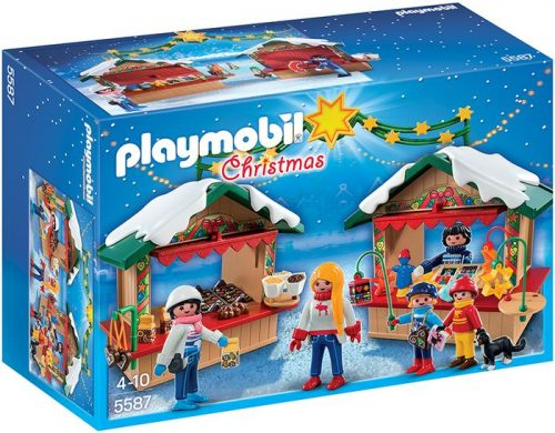 Playmobil Na jarmarku bożonarodzeniowym