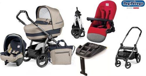 Wózek 4w1 Book 51 Navetta XL, Elite, Pop-Up + siedzisko+ fotelik samochodowy 0-13 + torba pielęgnacyjna szerokosc wózka 51 cm + baza do fotelika, Peg Perego