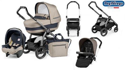 Wózek 4w1 Book 51S Navetta XL, Elite, Pop-Up + siedzisko + fotelik samochodowy 0-13 + torba pielęgnacyjna szerokosc wózka 51 cm + baza do fotelika, Peg Perego