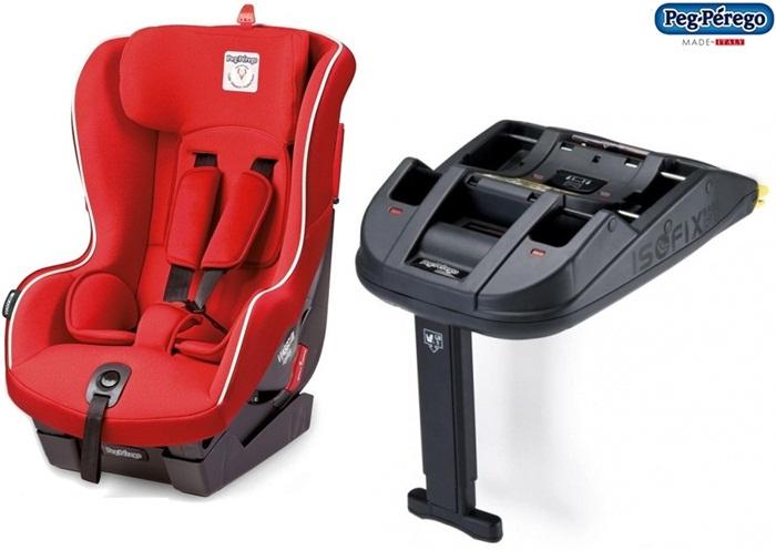 Uniwersalny fotelik samochodowy Viaggio 1 Duo Fix 9-18kg + Baza isofix, Peg Perego