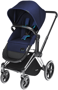 Priam 2w1 wózek głeboko spacerowy koła lekkie, terenowe lub Trakingowe Cybex