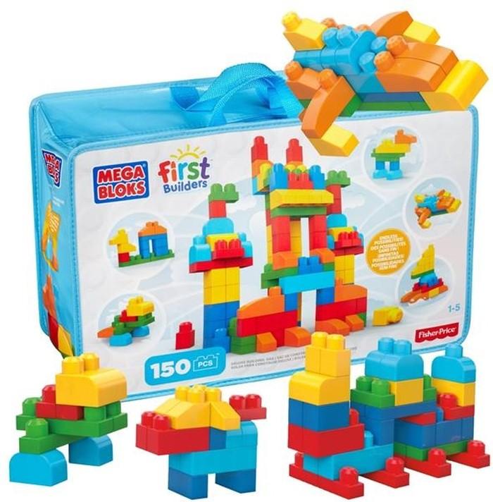 Duża toba klocków Mega Bloks 150 elementów