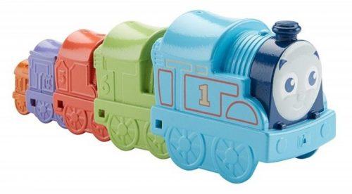 Tomek i przyjaciele -pociągi do układania - Fisher Price DVR11