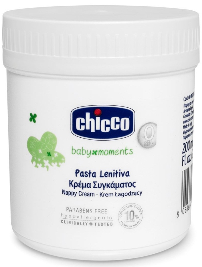 Krem łagodzący na odparzenia dla dzieci i niemowląt 200 ml Chicco Nappy Cream