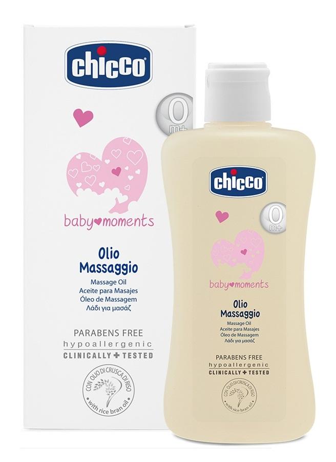 Oliwka do masażu dla dzieci i niemowląt 200 ml Chicco Baby Moments