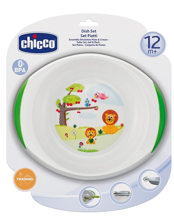 Zestaw talerzyków dla dzieci 12m+ Chicco