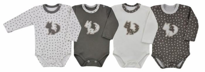 Body bawełniane z długim rękawem kolekcja XO Koala Baby