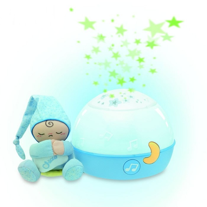 Linia prezentowa Chicco Projektor gwiazdek niebieski