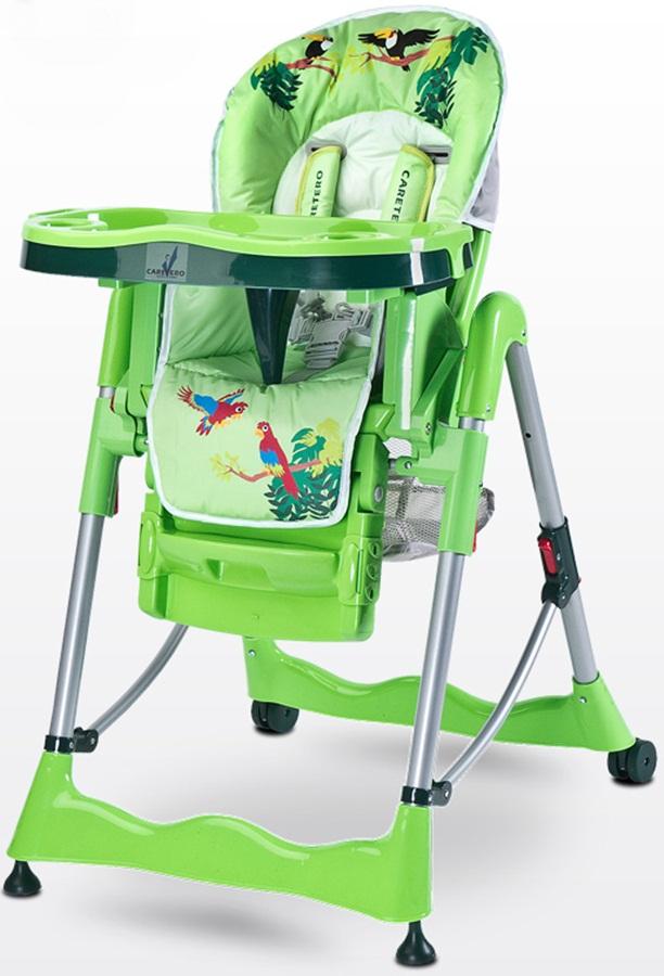 Funkcjonalne i bezpieczne krzesełko do karmienia Magnus Fun firmy Caretero