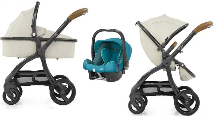 Wózek głęboko spacerowy 3w1 EGG Baby Style z fotelikiem samochodowym z testami ADAC