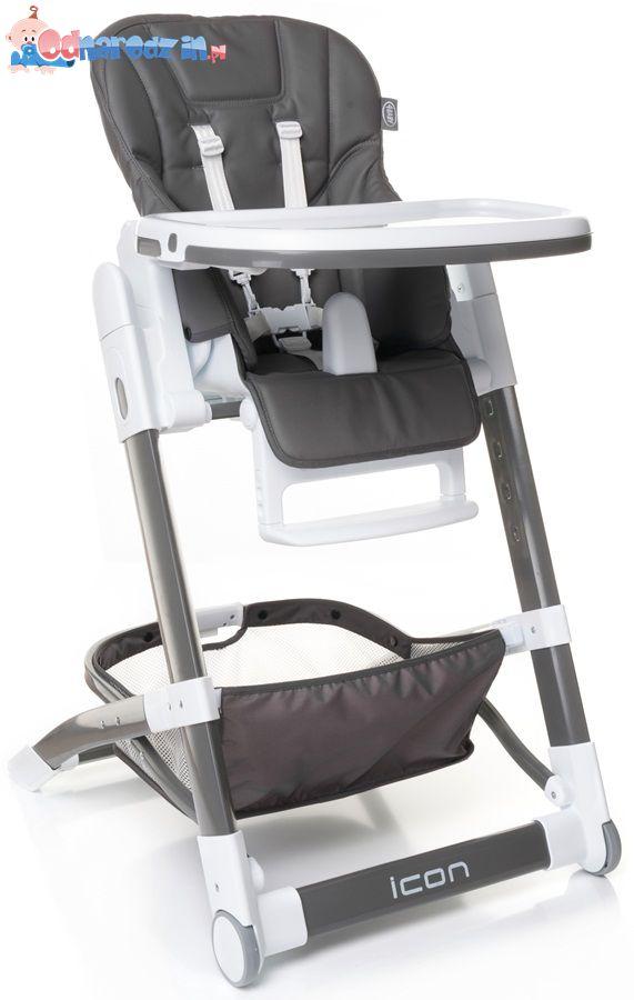 Nowoczesne krzesełko do karmienia Icon 4 baby