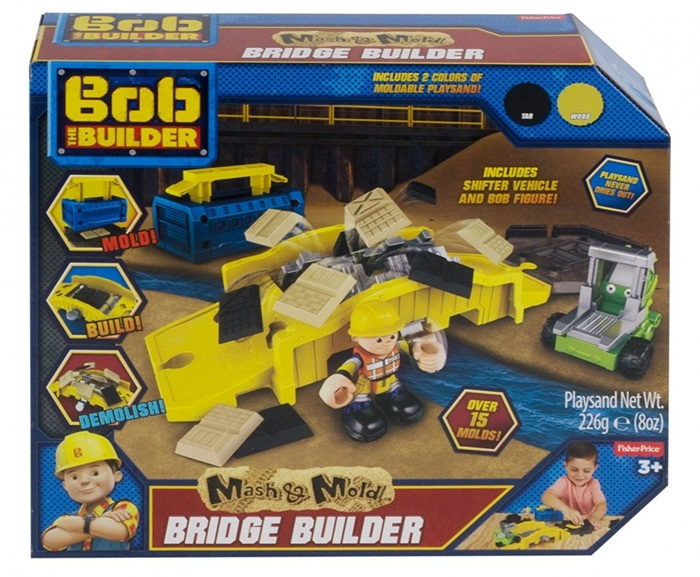 Fisher Price Bob Budowniczy - Zestaw naprawa mostów DXP75