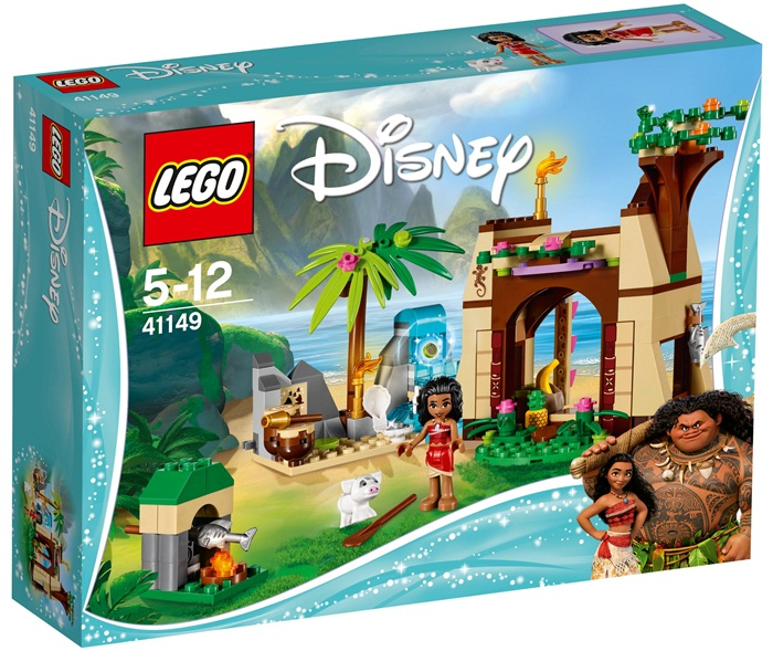 Przygoda Valiany na wyspie, Lego Disney Princess 41149