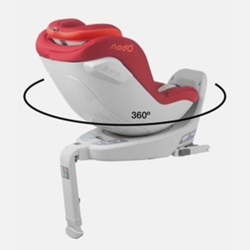 Fotelik samochodowy obrotowy 360 I-Size Nado Coeur 0-18 kg, Be Cool