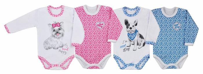 Koala Baby Body z bawełny kolekcja Cool Dog